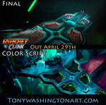 Ratchet and Clank Color Script 3 by Tonywash