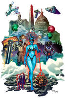 Parliament Funkadelic Art Show Poster by Tonywash