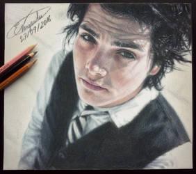 Gerard Way (Drawing) by Tokiiolicious