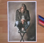 Dave Grohl - Drawing by Tokiiolicious