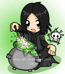 Severus Snape - Harry Potter by amy-art