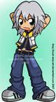 Riku - Kingdom Hearts by amy-art