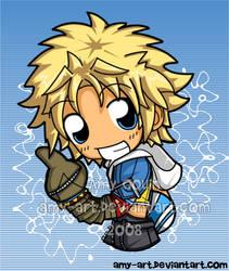 Tidus - Final Fantasy 10 by amy-art