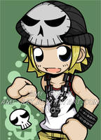Beat - World Ends With You by amy-art