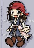 Captain Jack Sparrow by amy-art