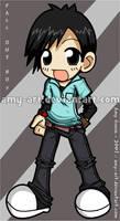 Pete Wentz - Fall Out Boy by amy-art