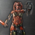 StarWars: Darth Talon by LeneMa7991