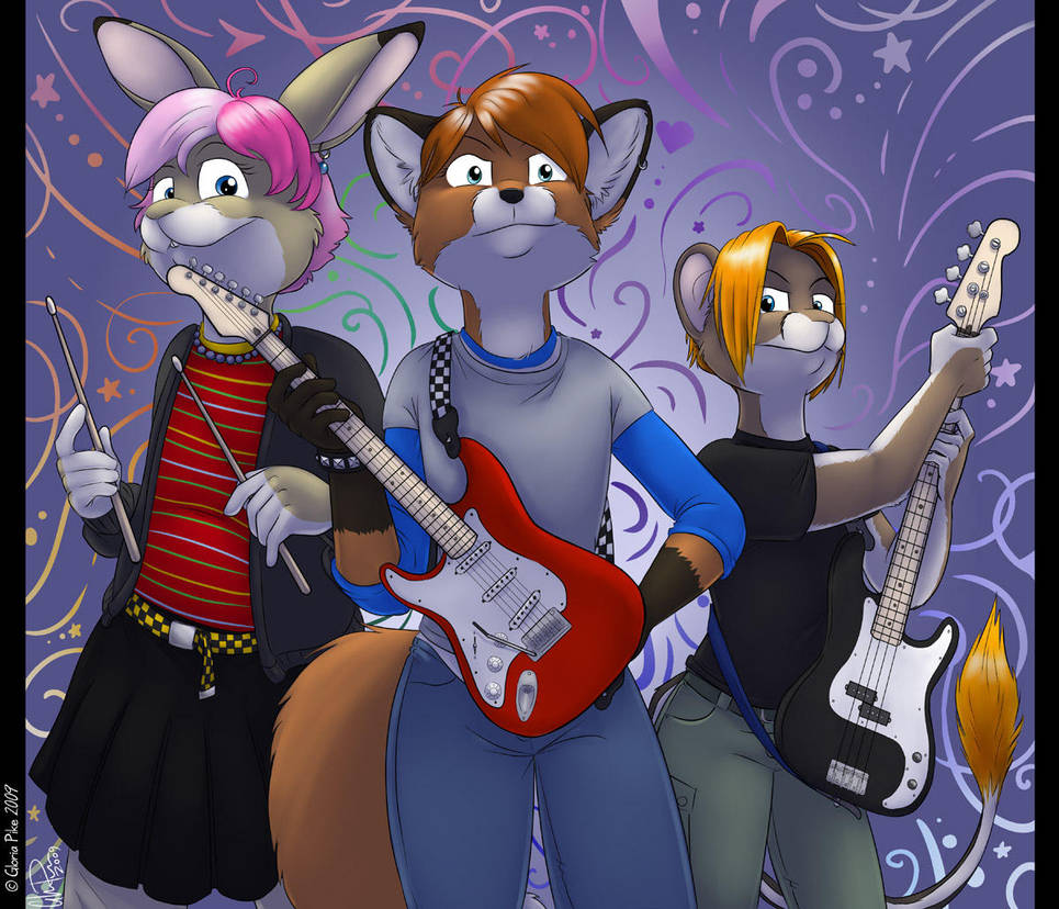 Girl Band by twapa