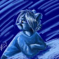 Blue Twapa by twapa