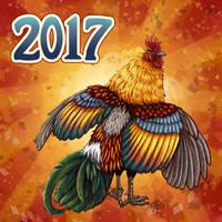 Happy New Year 2017 by twapa