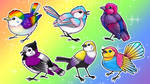 Pride Birds (Charms Kickstarter Now Live!) by twapa