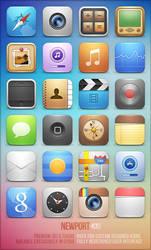 Newport iOS theme (version 4) by trentmorris