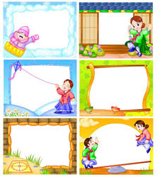 korean games frames by montoy