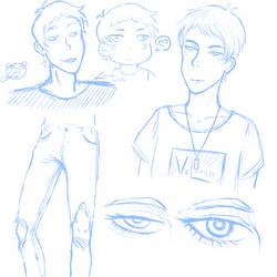Lance Sketches by Marikachan