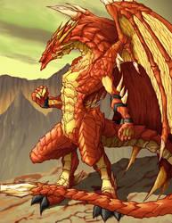 Mountain Dragon by ketzalcoatl