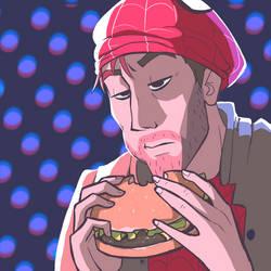 Peter Parker burger boy by Zionthe2