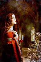 Pre-Raphaelite Painting by Canankk