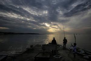 3 Generations of Fishermen by Canankk