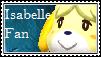 Isabelle Fan Stamp by tinystalker