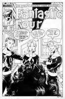 Fantastic Four 265 Cover Recreation by dalgoda7