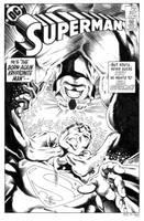Superman 397 Cover Recreation by dalgoda7
