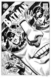 Batman 205 Cover Recreation by dalgoda7