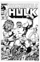 Incredible Hulk #314 Cover Recreation by dalgoda7