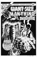 Giant Size Man-Thing #4 Cover Recreation by dalgoda7