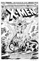 Uncanny X-Men #101 Cover Recreation by dalgoda7