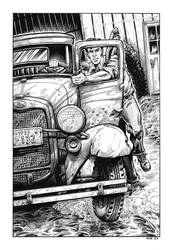 Purple Scar - The Black Fog illustration #4 by dalgoda7