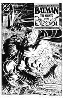 Batman #420 Cover Recreation by dalgoda7