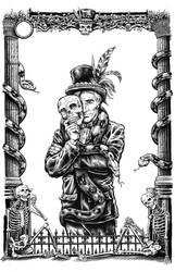 Mr. Kill: Cover art by dalgoda7