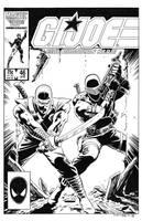 G.I. Joe #46 Cover Recreation by dalgoda7
