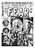 Haunt Of Fear #20 Cover Recreation by dalgoda7