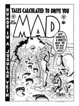 MAD #8 Cover Recreation by dalgoda7