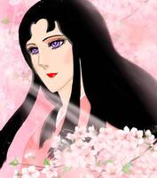 Chigusa as Kurenai Tennyo by mercuryZ