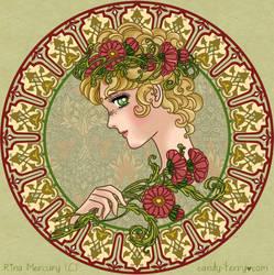 Candy Art Nouveau by mercuryZ