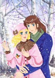 Winter love by mercuryZ