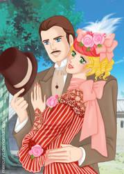 Eleanor Baker and Richard Grandchester by mercuryZ
