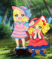 Candy and Annie by mercuryZ