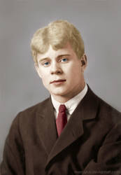Sergei Yesenin by mercuryZ