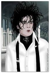 Edward Scissorhands by mercuryZ