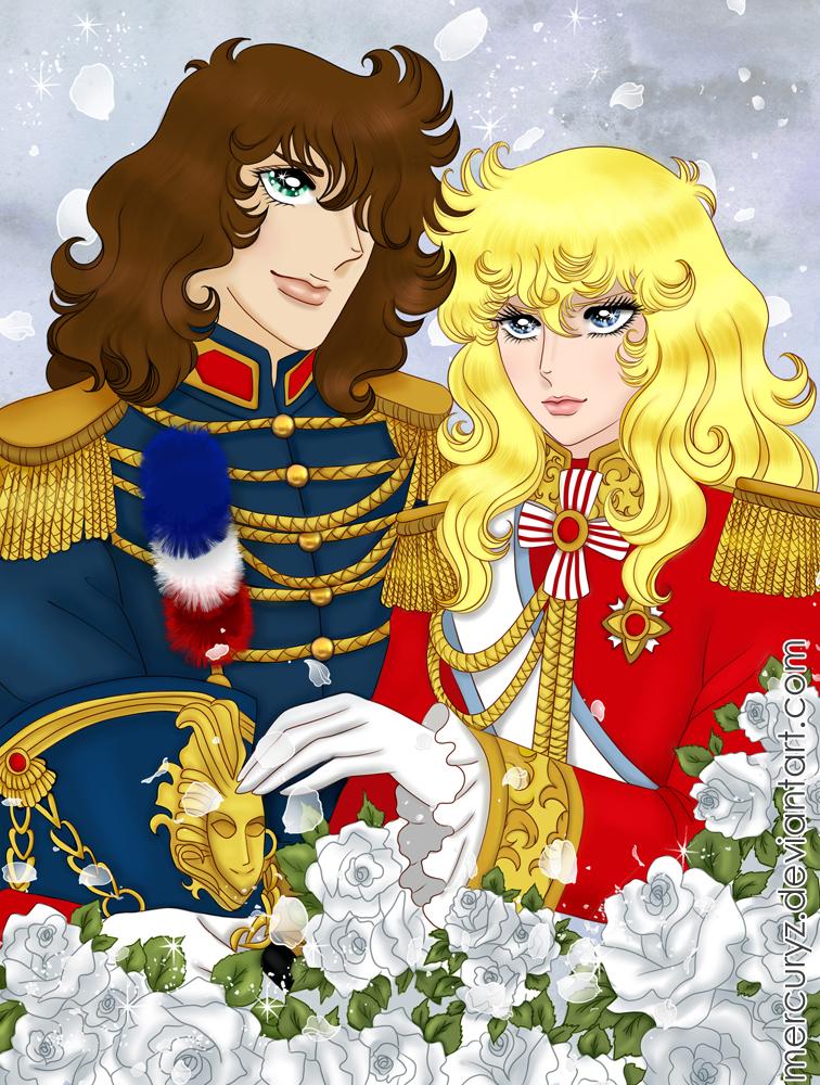 Oscar and Andre by mercuryZ