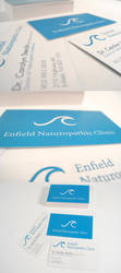 Enfield Naturopathic Logo+Card by spen