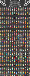 320 Color Palette Challenge by DeathInHeavens by DreamingMystic