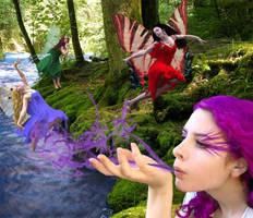 Fairies by MarilynsMistress