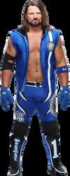 AJ Styles NEW png 2019 HD by LunaticAhlawy