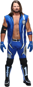 AJ Styles NEW png 2019 HD by LunaticAhlawy
