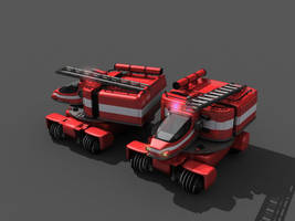 TESH-driven Fire Unit by Dlordtesh