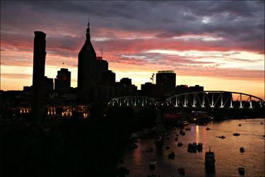 Nashville Skyline by anthonyestes